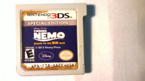 Disney Finding Nemo Esacape To Big Blue Nintendo 3DS USED