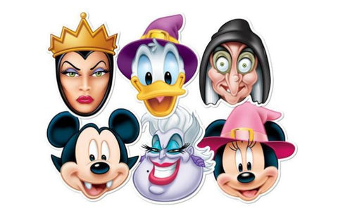 Disney Halloween Masks 6-Pack