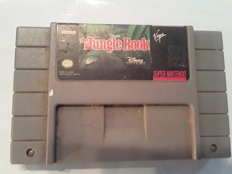 Disney's The Jungle Book SNES USED Super Nintendo Game