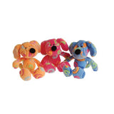 Rainbow Swirl Carnival Prize Dog Toys in multiple colors