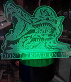 Don't Tread On Me Snake LED Light