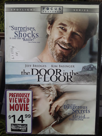 Door in the Floor DVD Movie 2004 Jeff Bridges Kim Basinger Elle Fanning