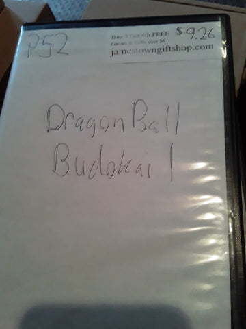 Dragon Ball Budokai 1 USED PS2 Video Game