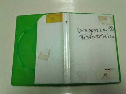 Dragon's Lair 3 Return to the Lair Used Original Xbox Video Game