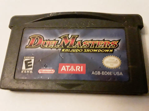 Duel Masters Kaijudo Showdown Used Gameboy Advance Video Game Cartridge