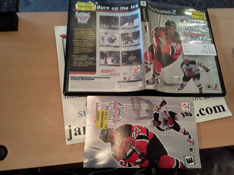 ESPN NHL National Hockey Night USED PS2 Video Game