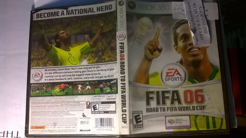 FIFA Soccer 06 USED Xbox 360 Video Game