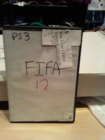 FIFA Soccer 2012 Used PS3 Video Game