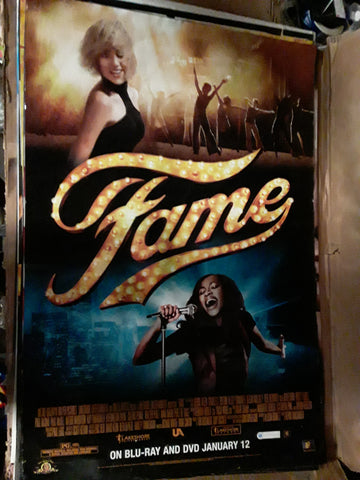 Fame 2009 Movie Poster 27x40 USED