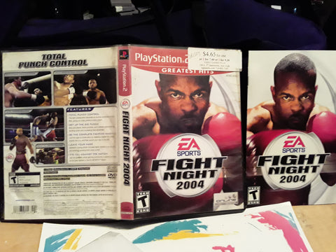 Fight Night 2004 Boxing USED PS2 Video Game