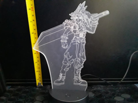 Final Fantasy Color-Changing LED Night Light Lamp
