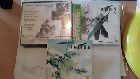 Final Fantasy VII Used Playstation 1 Game