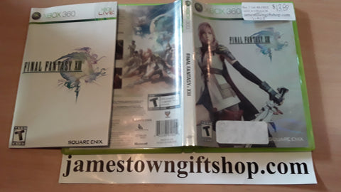 Final Fantasy XIII Used Xbox 360 Video Game