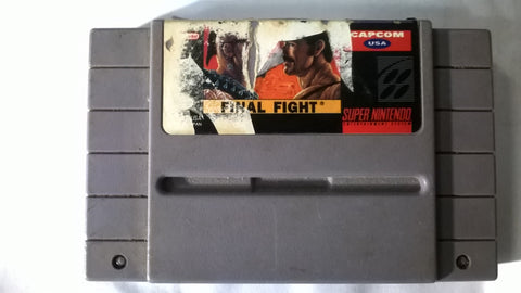 Final Fight SNES USED Super Nintendo Game