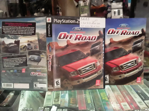 Ford Racing Off Road USED PS2 Video Game