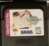 Fred Couples Golf Used Sega Game Gear Video Game Cartridge