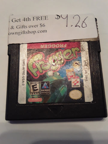 Frogger Used Gameboy Color Video Game Cartridge