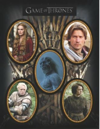 Game of Thrones 7.5x10 Magnet Set