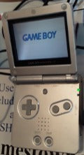 Gameboy Advance SP Silver System