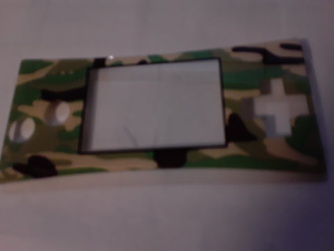 Gameboy Micro Camo Face Plate VERY RARE
