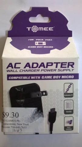 Gameboy Micro AC Adapter Charger BRAND NEW