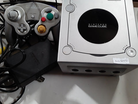 Gamecube Platinum System + Matching Controller FREE SHIPPING