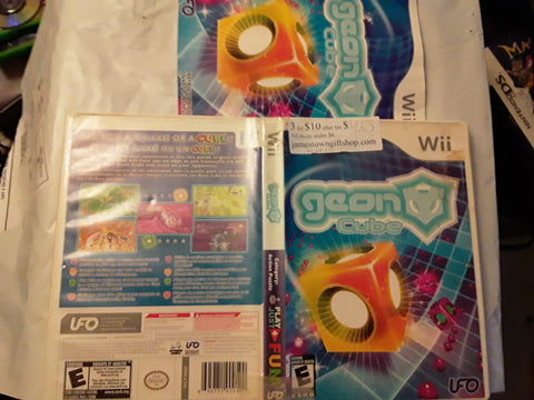Geon Cube Used Nintendo Wii Video Game