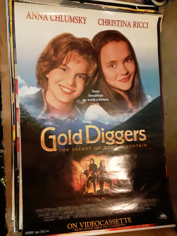Gold Diggers Anna Chlumsky Christina Ricci 2009 Movie Poster 27x40 USED
