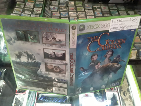 Golden Compass USED Xbox 360 Video Game