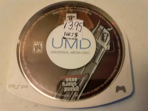 Grand Theft Auto Liberty City Stories PSP Used Video Game