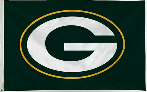 Green Bay Packers 3x5 NFL Logo Flag