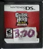 Guitar Hero On Tour Decades Used Nintendo DS Video Game Cartridge
