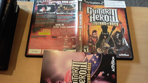 Guitar Hero III USED PS2 Video Game