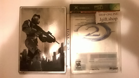Halo 2 Steelbook 2 Disks Original Xbox USED