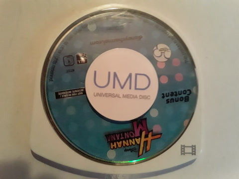 Hannah Montana Disney PSP Used UMD VIDEO MOVIE