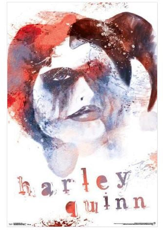 Harley Quinn Distressed Dreamer 24x36 Poster