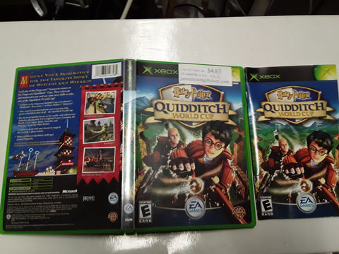 Harry Potter Quidditch World Cup Used Original Xbox Video Game