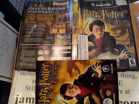 Harry Potter and the Chamber of Secrets Used Nintendo Gamecube Video Game