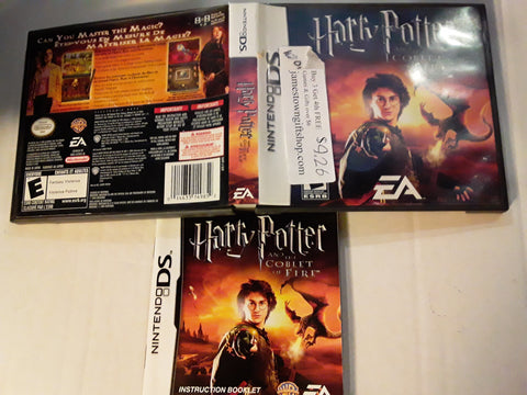 Harry Potter and the Goblet of Fire COMPLETE Used Nintendo DS Game