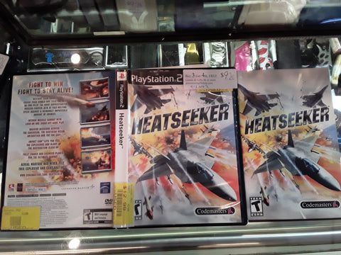 Heatseeker PS2 USED Video Game