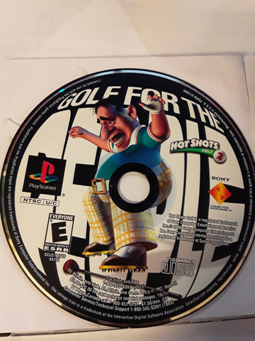 Hot Shots Golf 2 Used Playstation 1 Game