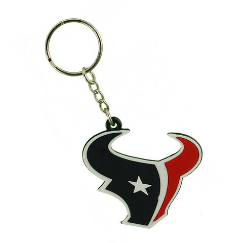 Houston Texans NFL Vinyl Key Chain  Ring
