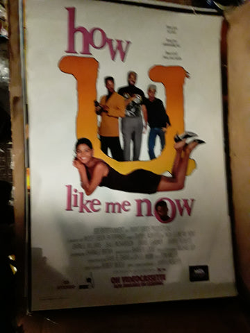 How U Like Me Now 1992 Movie Poster 27x40 USED