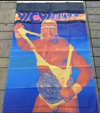 Hulk Hogan WCW Rules 3x5 Feet Flag