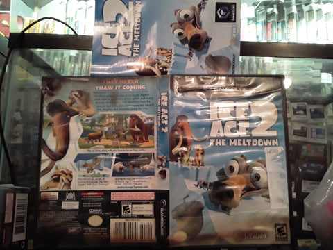 Ice Age 2 The Meltdown Used Nintendo Gamecube Video Game