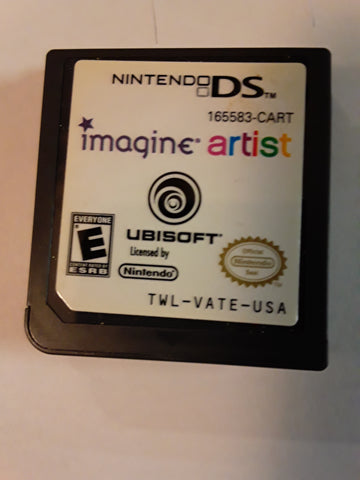 Imagine Artist Used Nintendo DS Video Game Cartridge