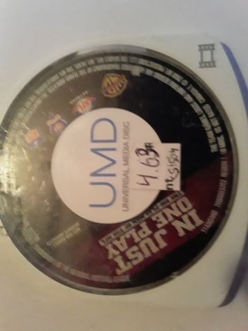 In Just One Play NFL PSP Used UMD VIDEO MOVIE
