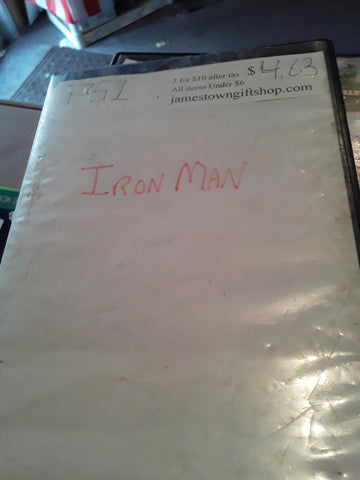 Iron Man Marvel Comics USED PS2 Video Game