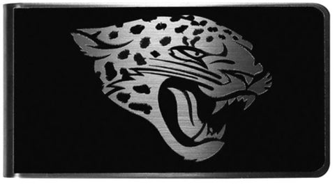 Jacksonville Jaguars NFL Black Steel Money Clip