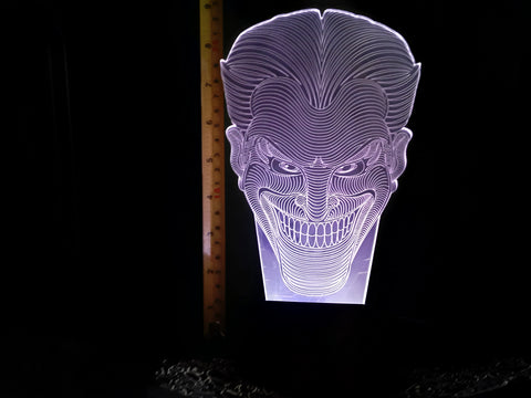 Joker DC Comics LED Night Light Lamp